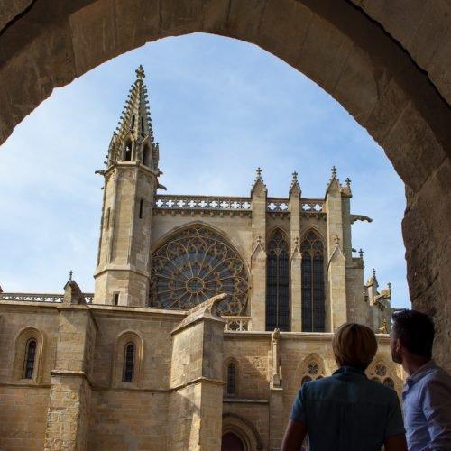Reportage Carcassonne Bastide et Cité pour ADT Aude - printemps